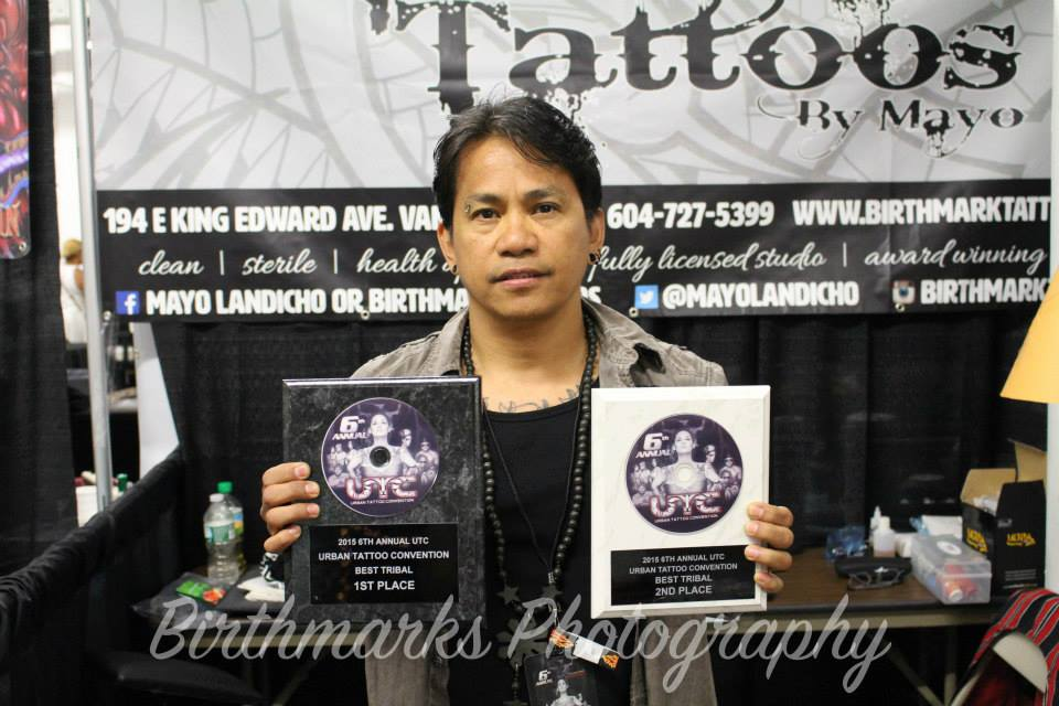 1st and 2nd Place for Tribal Tattoos - Urban Tattoo Convention in New York City